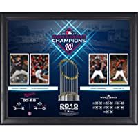 "$69 » Washington Nationals 2019 World Series Champions Framed 16"" x 20"" Collage - MLB Team Plaques and Collages"