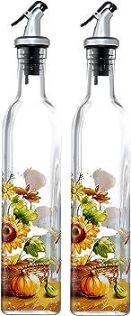 Juvale Oil and Vinegar Dispenser – Salad Dressing Cruets