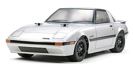 Amazon Com Tamiya 51451 Body Set Mazda Rx 7 1st Generation Toys