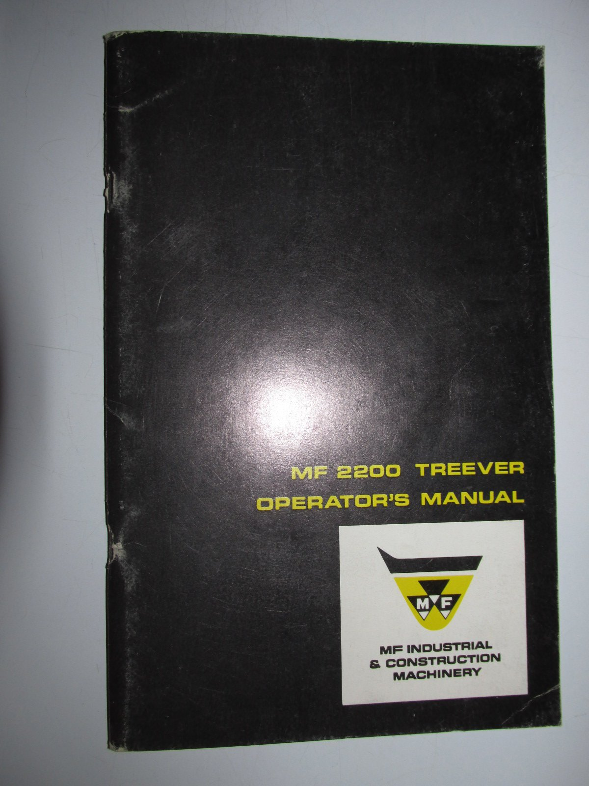 Massey Ferguson MF 2200 Treever Log Skidder Operators Owners Manual Book  Original 690 827 M2: Massey Ferguson & AGCO: Amazon.com: Books