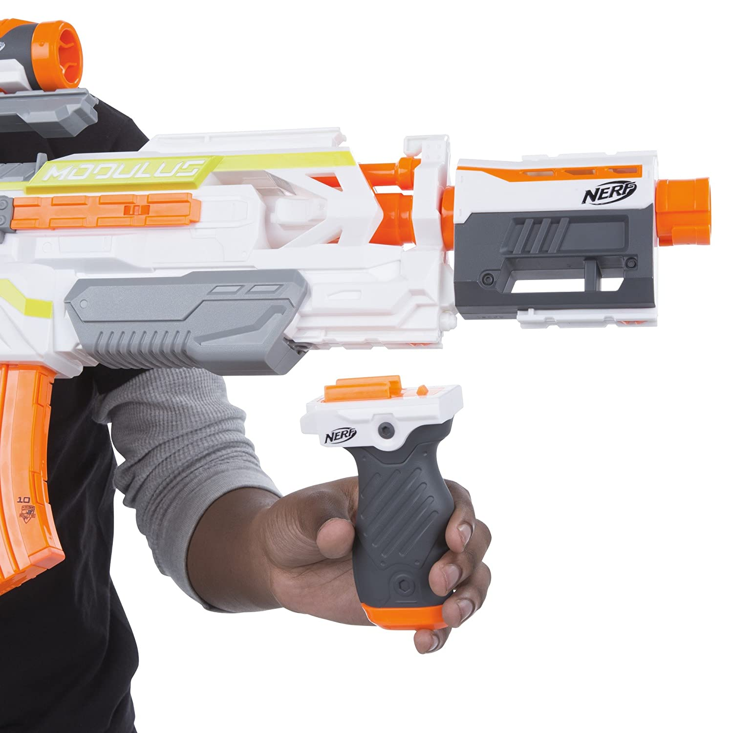 Buy Nerf N Strike Modulus Ecs 10 Blaster line at Low Prices in India Amazon