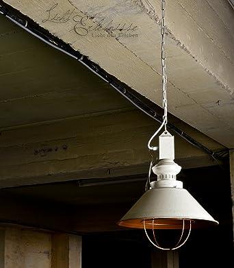 Techo en cobre color blanco vintage estilo Incluye 1 x 12 W E27 LED 230 V