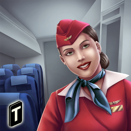 Airplane Flight Attendant   Career Job Sim