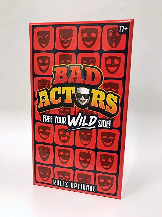 Bad Actors Version. 2.0 - The Character Impersonation Adult Party Game