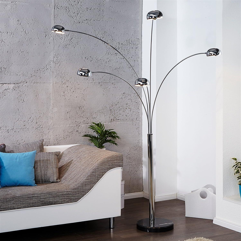 Retro Design Klassiker Stehlampe Lampe Five Fingers Space Lounge