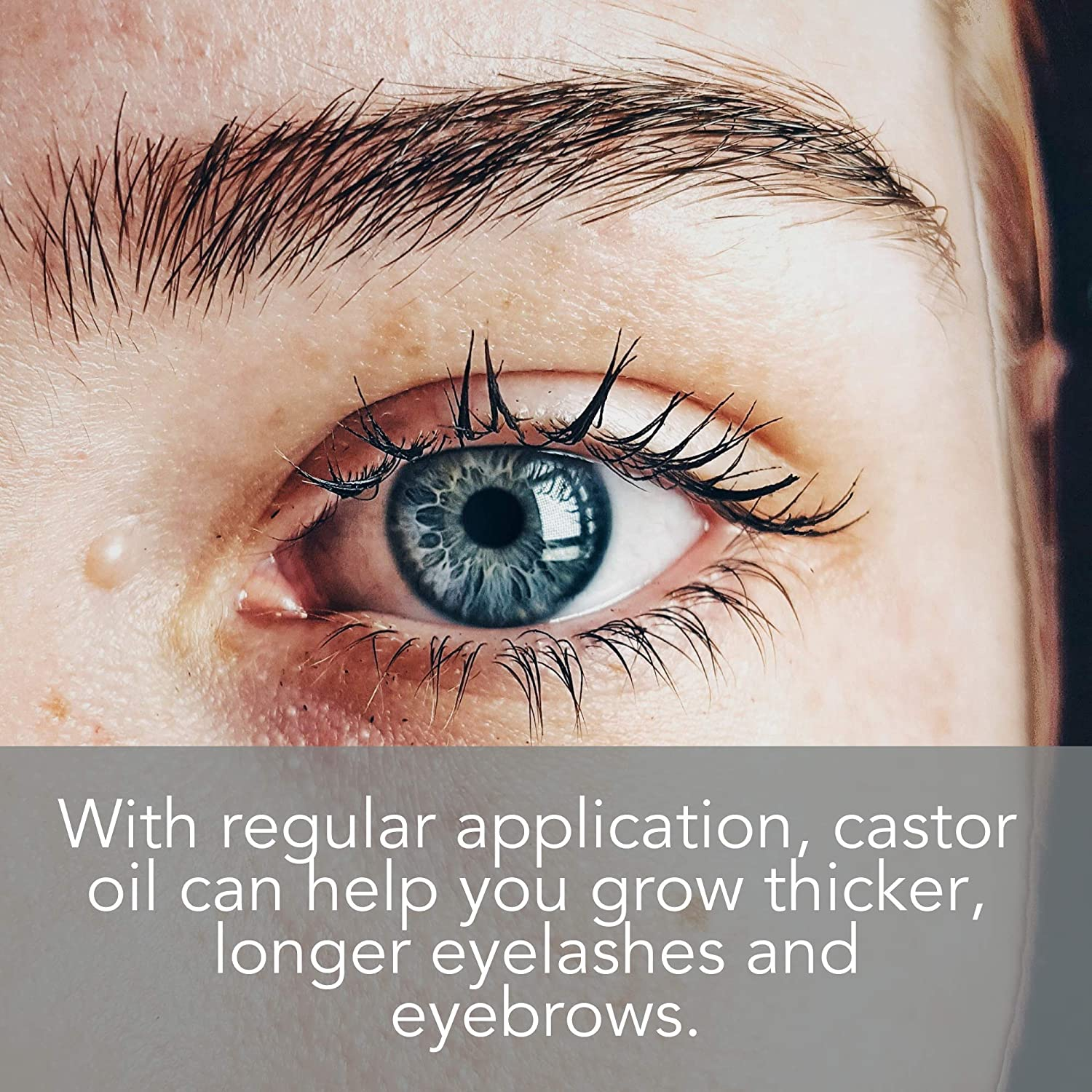 Amazon Organic Castor Oil For Eyelashes And Eyebrows With