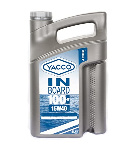 Aceite Motor barco Yacco Inboard 100 4T 15 W40 (5L): Amazon ...