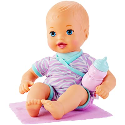 Little Mommy Baby So New Tiny Tiger Doll: Toys & Games