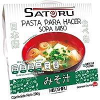 Satoru Pasta para hacer Sopa Miso, Miso blanco, 200 gramos