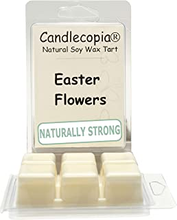 product image for Candlecopia Easter Flowers Strongly Scented Hand Poured Vegan Wax Melts, 12 Scented Wax Cubes, 6.4 Ounces in 2 x 6-Packs