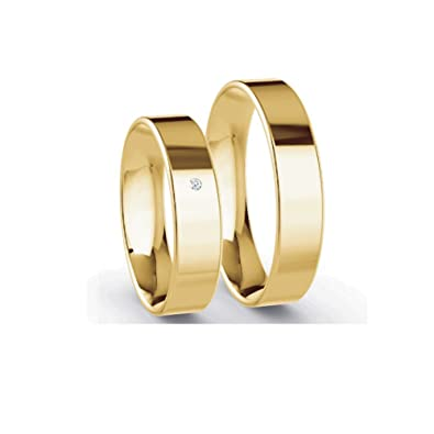 Verlobungsringe Eheringe Trauringe Partnerringe 2 Ringe 5mm Breite