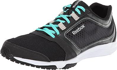 a6bccfcbe8e Reebok Sublite Sprint TR Mens Running Shoe 10.5 Black-Teal-White
