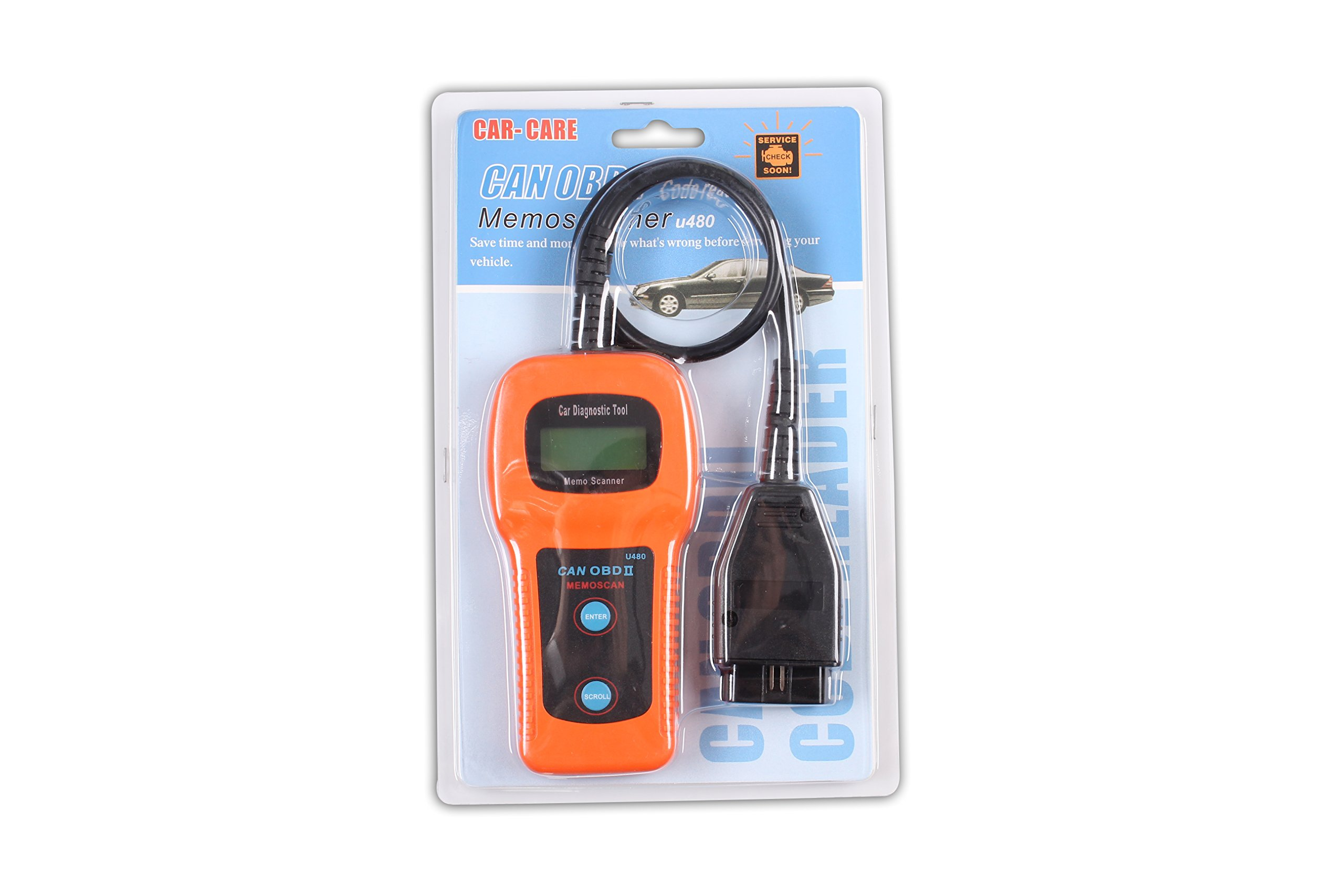 U480 OBD2 CAN BUS/ Engine Code Reader OBD2 OBDII Car or Truck AUTO Diagnostic Engine Scanner by XTOOL (Image #9)