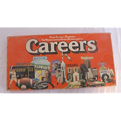 Careers Board Game Revised 1979 Version: Toys & Games
