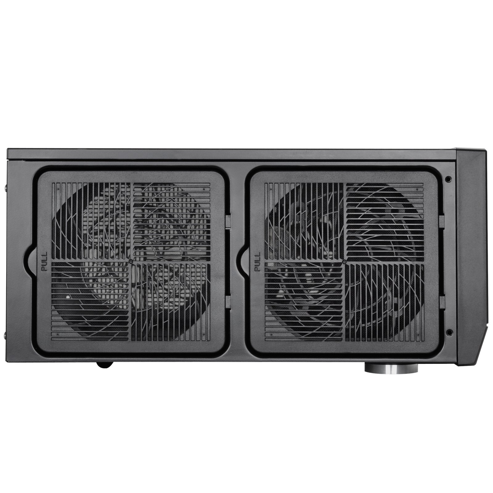 SilverStone Technology Home Theater Computer Case (HTPC) with Faux Aluminum Design for ATX/Micro-ATX Motherboards GD09B by SilverStone Technology (Image #4)