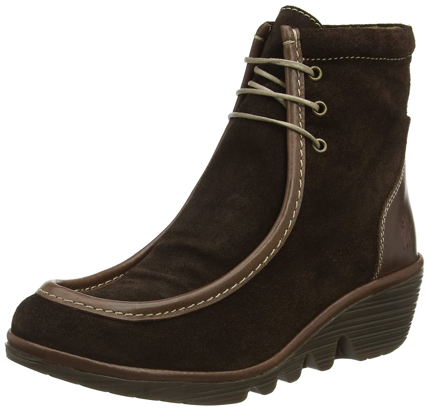 Fly London Pail763fly, Botas para Mujer39 EU|Marrón (Expresso/Dk. Brown)