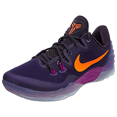 Nike Mens Zoom Kobe Venomenon 5 Basketball Shoes Court Purple/Total Orange  749884-585