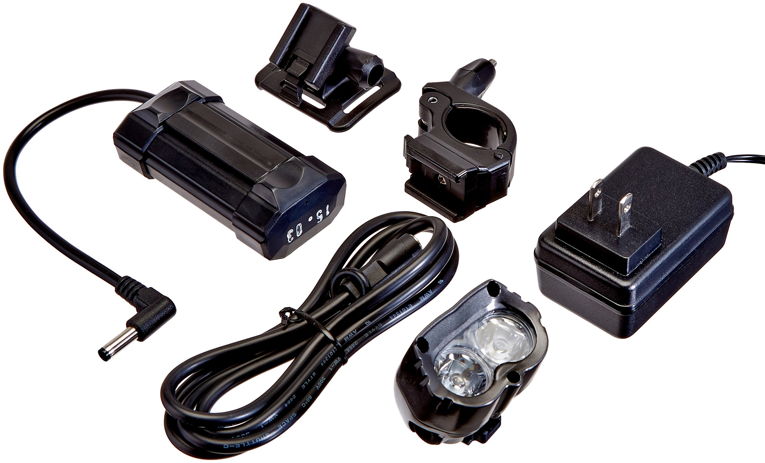 Cygolite MityCross OSP 800 Lumen Programmable Bicycle Headlight, Gray, One Size