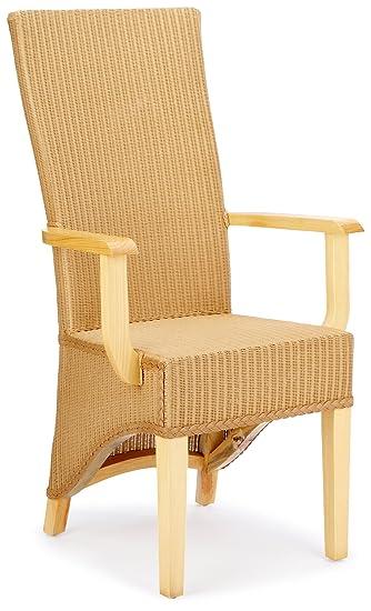 Hansen 6232 Lloyd-Loom-Stuhl 59 x 50 x 111 cm natur: Amazon.de ...
