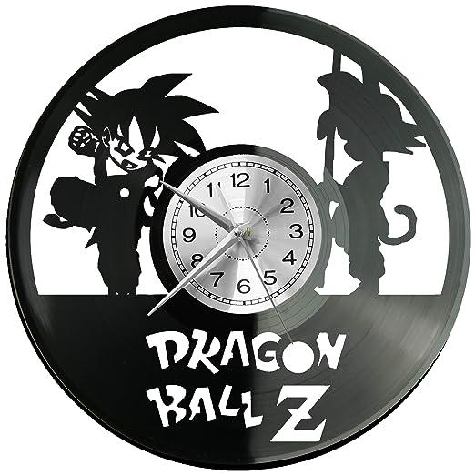 WoD Dragon Ball - Reloj de Pared de Vinilo, Estilo Retro ...