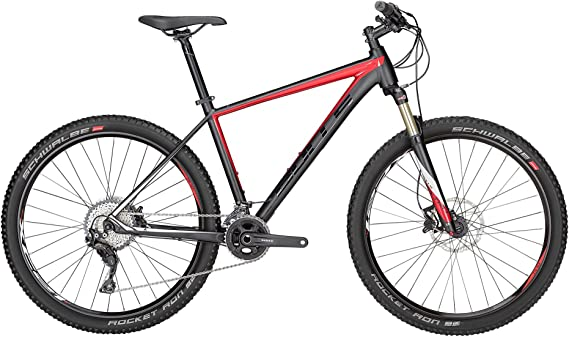 Bulls Mountain Bike Copperhead 3 LT 27,5 negro de color rojo ...