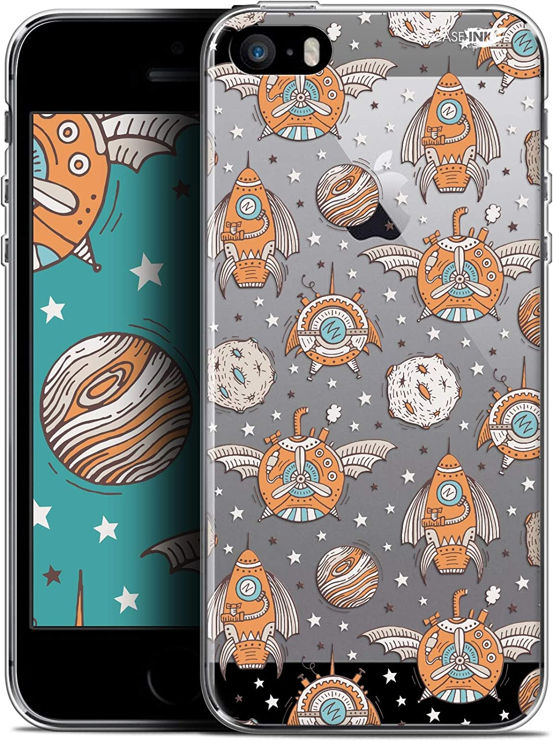 Punk Space Ultra Thin Case for Apple iPhone 5/5S/SE 4 Inch