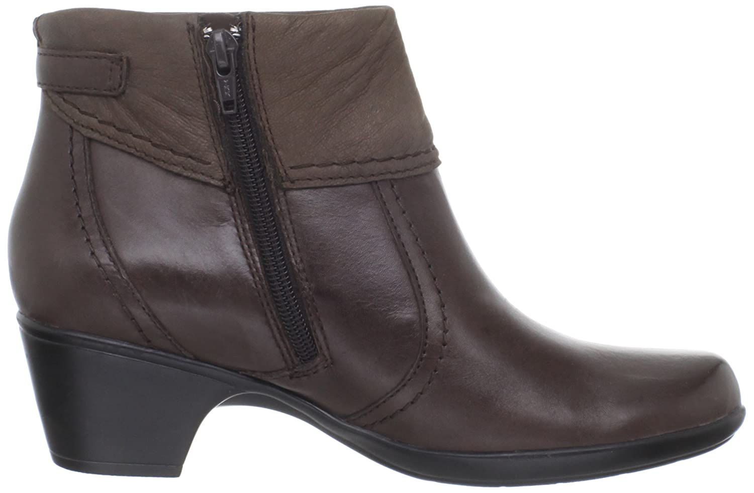 Amazon.com | Clarks Ingalls Ohio Ankle Boots, Brown, 6 W/D | Ankle & Bootie