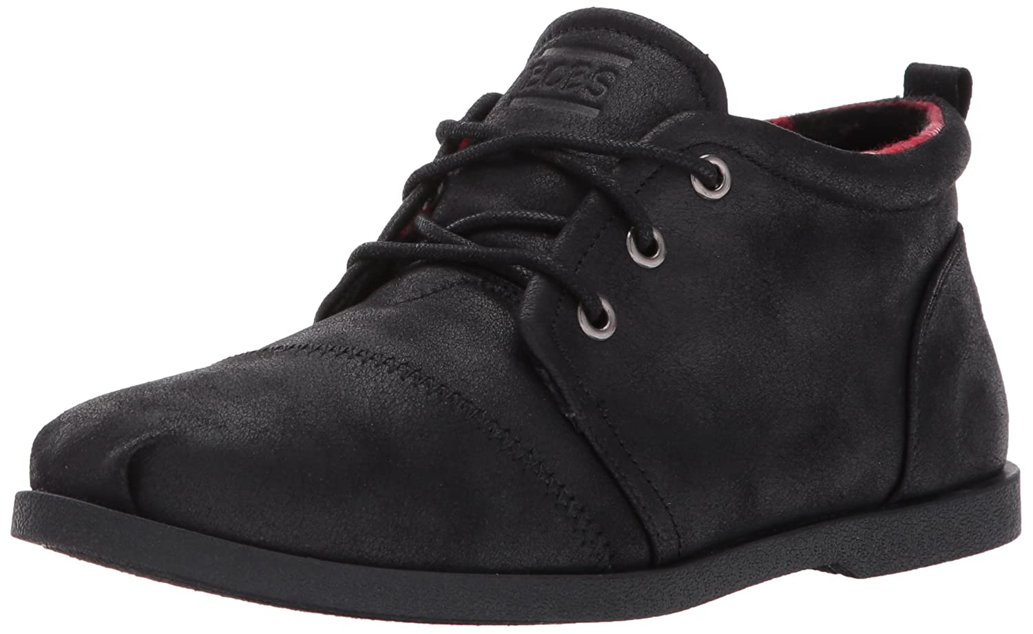 Skechers BOBS from Women's Chill Luxe-Drifting Flat B0713X5DTW 9.5 M US|Black/Black