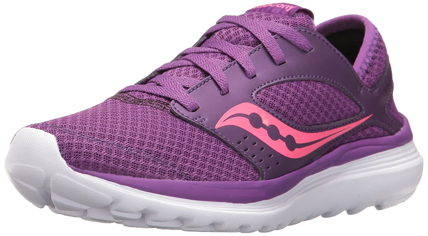 Saucony Women's Kineta Relay Running Shoe B005BESUYS 12 B(M) US|Purple/Pink