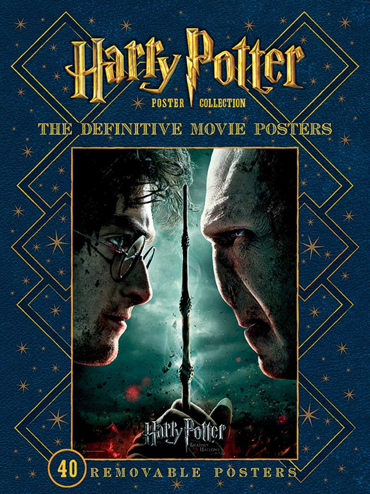 Amazon Com Harry Potter Poster Collection The Definitive Movie Posters Insights Poster Collections 8601417121375 Warner Bros Consumer Products Inc Books