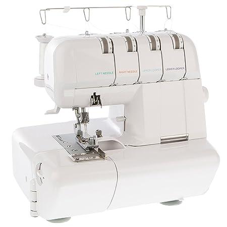 LEVIVO No400 Overlock Sewing Machine With 40 Thread System Amazonco Fascinating Overlocker Sewing Machine Uk