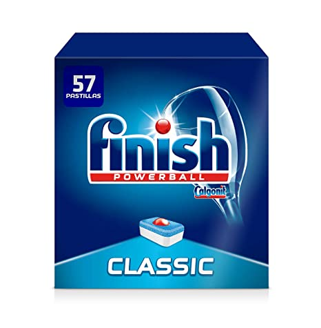 Finish Classic Regular Pastillas para Lavavajillas - 57 Pastillas ...