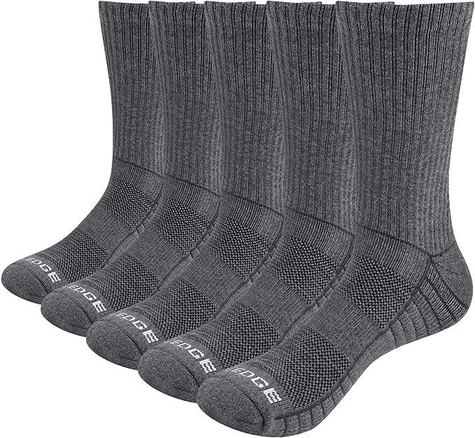 Sz 9-11 USA Made 3-12 PAIR Men/'s Crew Socks Cotton Athletic White Crew Socks