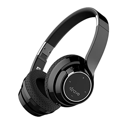 bdb88e48076 Amazon.com: MEE audio Wave Bluetooth Wireless On-Ear Headphones with Headset  Functionality: Home Audio & Theater
