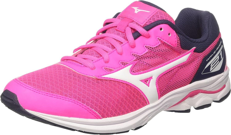 Chaussures de Running Mixte Enfant Mizuno Wave Rider 21 JNR