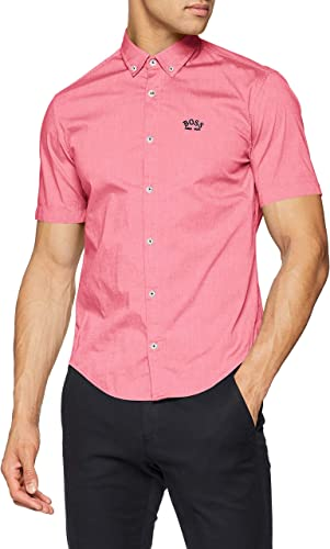 BOSS Biadia_r Camisa, Rosa Brillante, XL para Hombre: Amazon.es: Ropa y accesorios