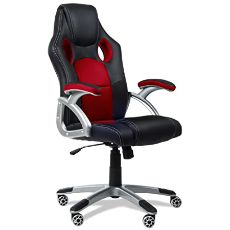 ufficio Kewayes Racing sport girevole Racing poltrona colore rosso da Sedia Gaming QrCedWEBxo