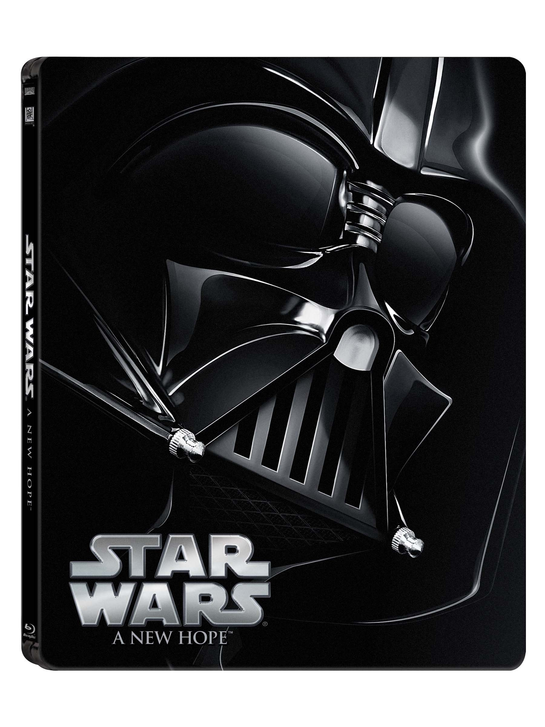 Star Wars: A New Hope (Limited Edition Steel Book) [Blu-ray]