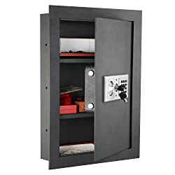 Paragon 7725 Flat Superior Electronic Hidden Wall Safe .83 CF (for Jewelry or Small Handgun Security) Review
