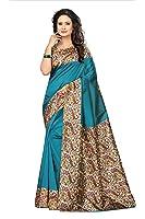 Mrinalika Fashion Women'S Art Silk Saree With Blouse sarees new collection 2018