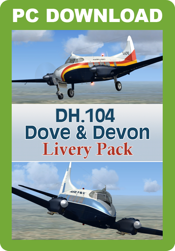 Picture of a DH104 Dove Devon Livery
