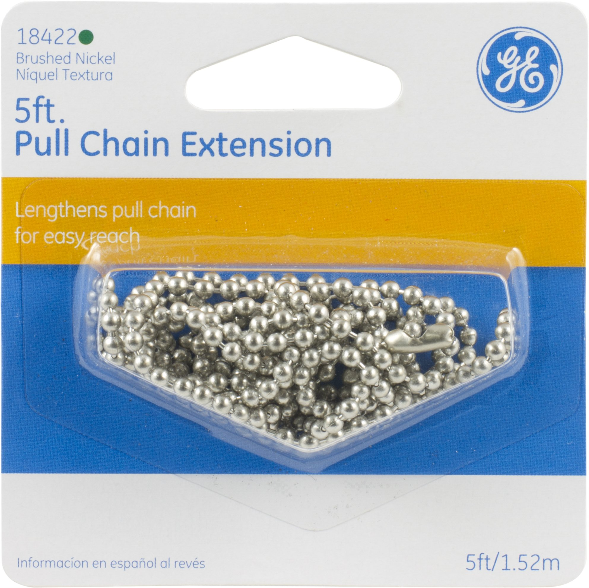 GE 18422 Beaded Pull Chain Extension