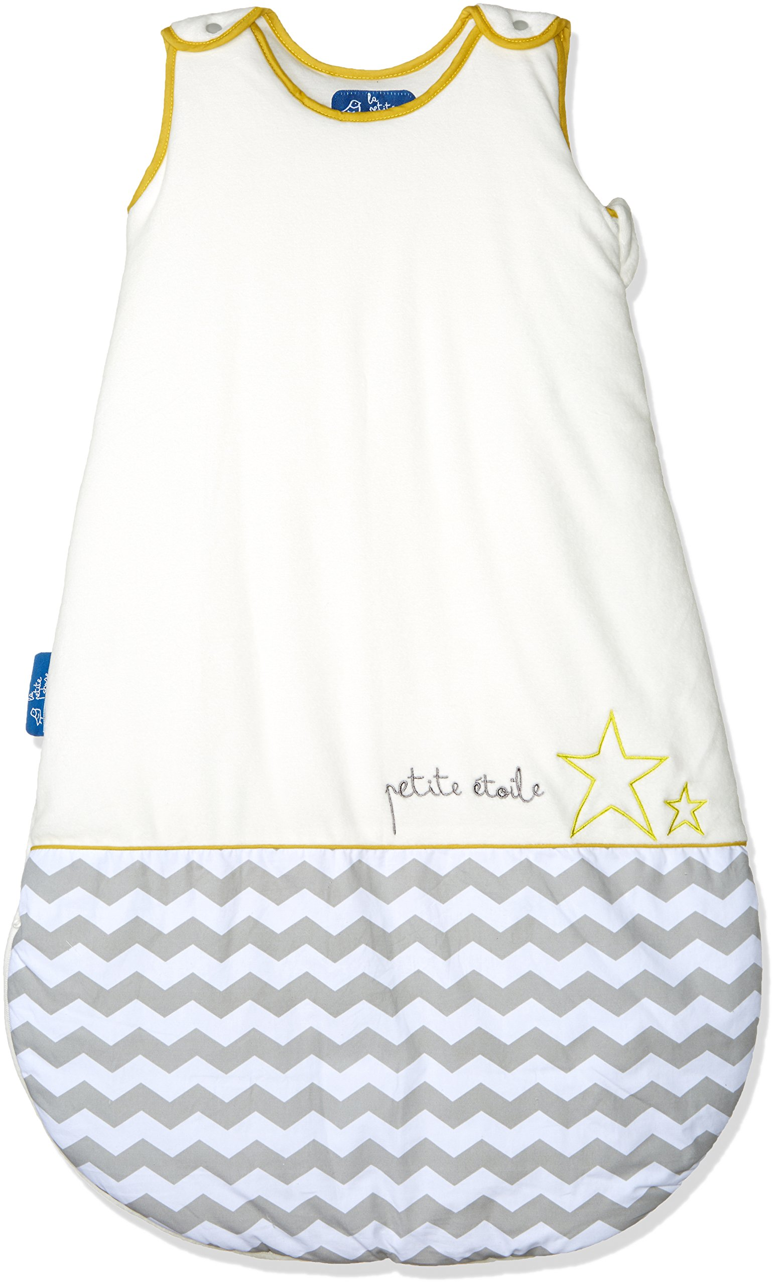 La Petite Chose Baby Sleeping Sack, Adjustable Length & Naturally Cozy Cotton for Soft, Safe Sleep (Little Star 9-24 months)