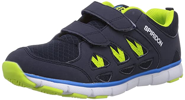 Unisex-Erwachsene Spiridon Fit Vs Sneaker, Blau (Blau/Marine/Lemon Blau/Marine/Lemon), 36 EU Brütting
