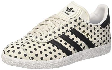Adidas Gazelle W, Chaussures de Fitness Femme, Blanc (Balcri/Negbás / Ftwbla