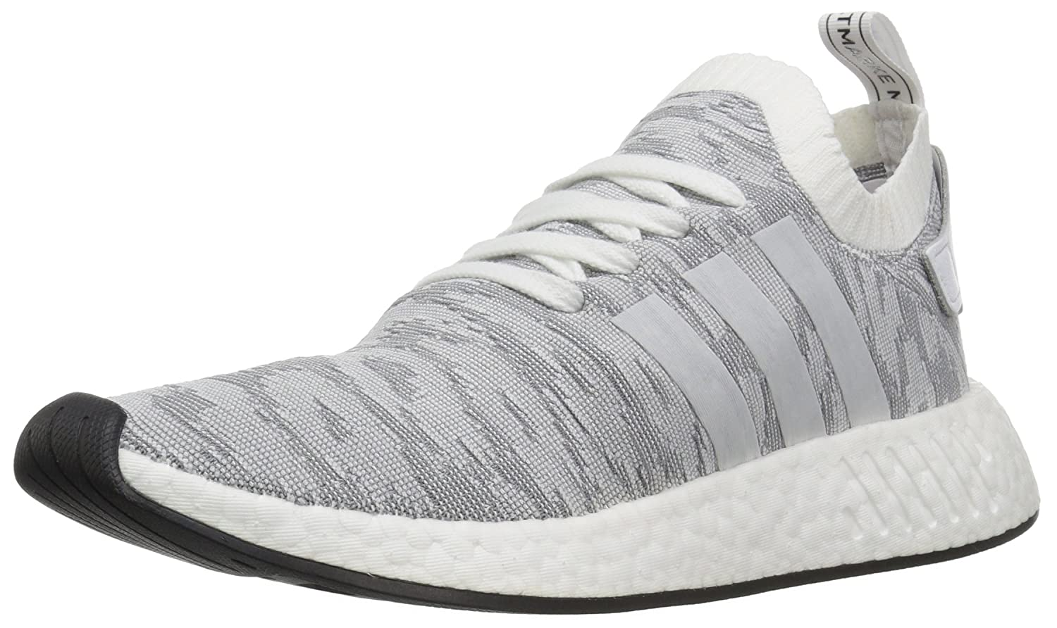 White White Black Adidas ORIGINALS Mens NMD_r2 Pk Running shoes