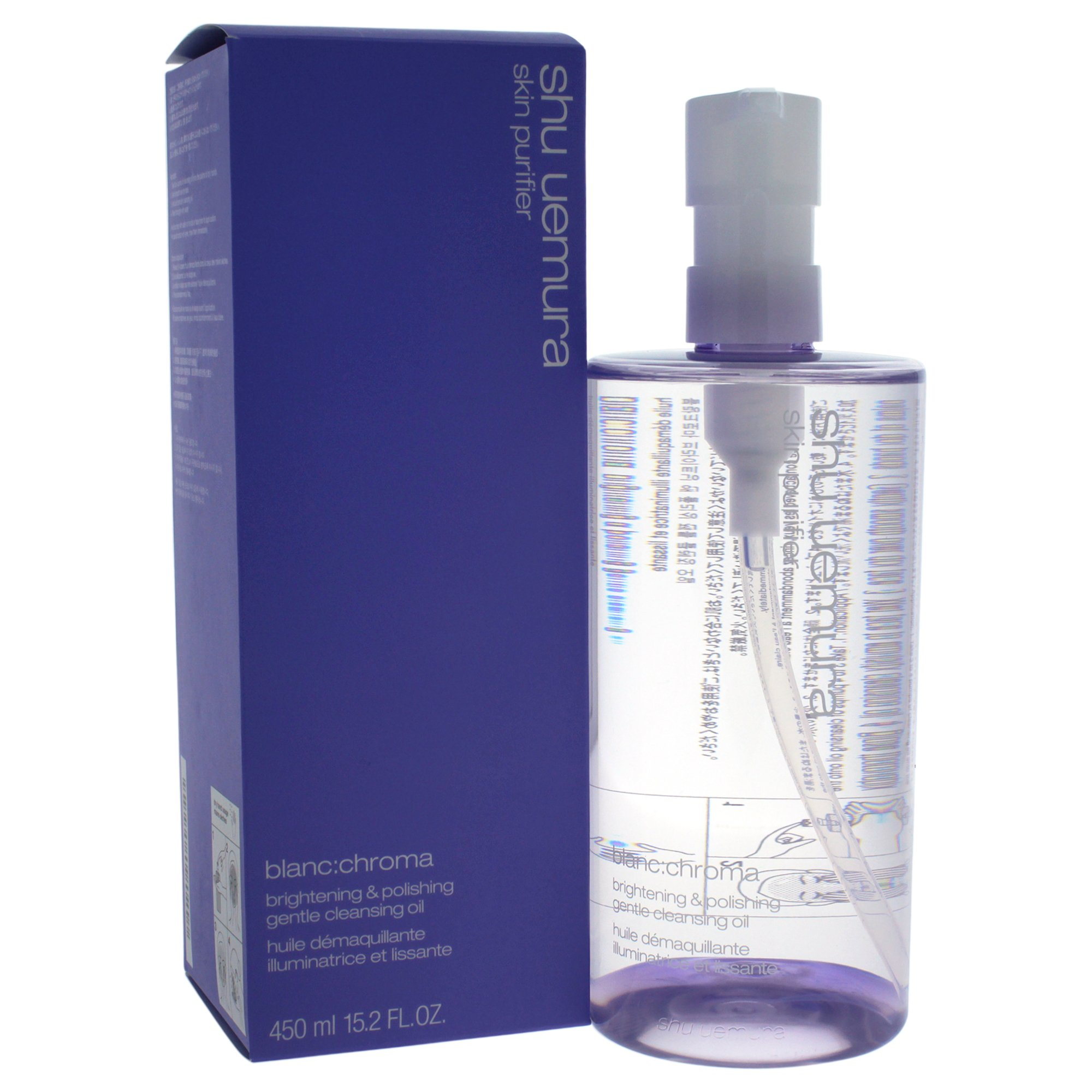 Shu Uemura Blanc:chroma Brightening and Polishing Gentle Cleansing Oil, 15.2 Ounce