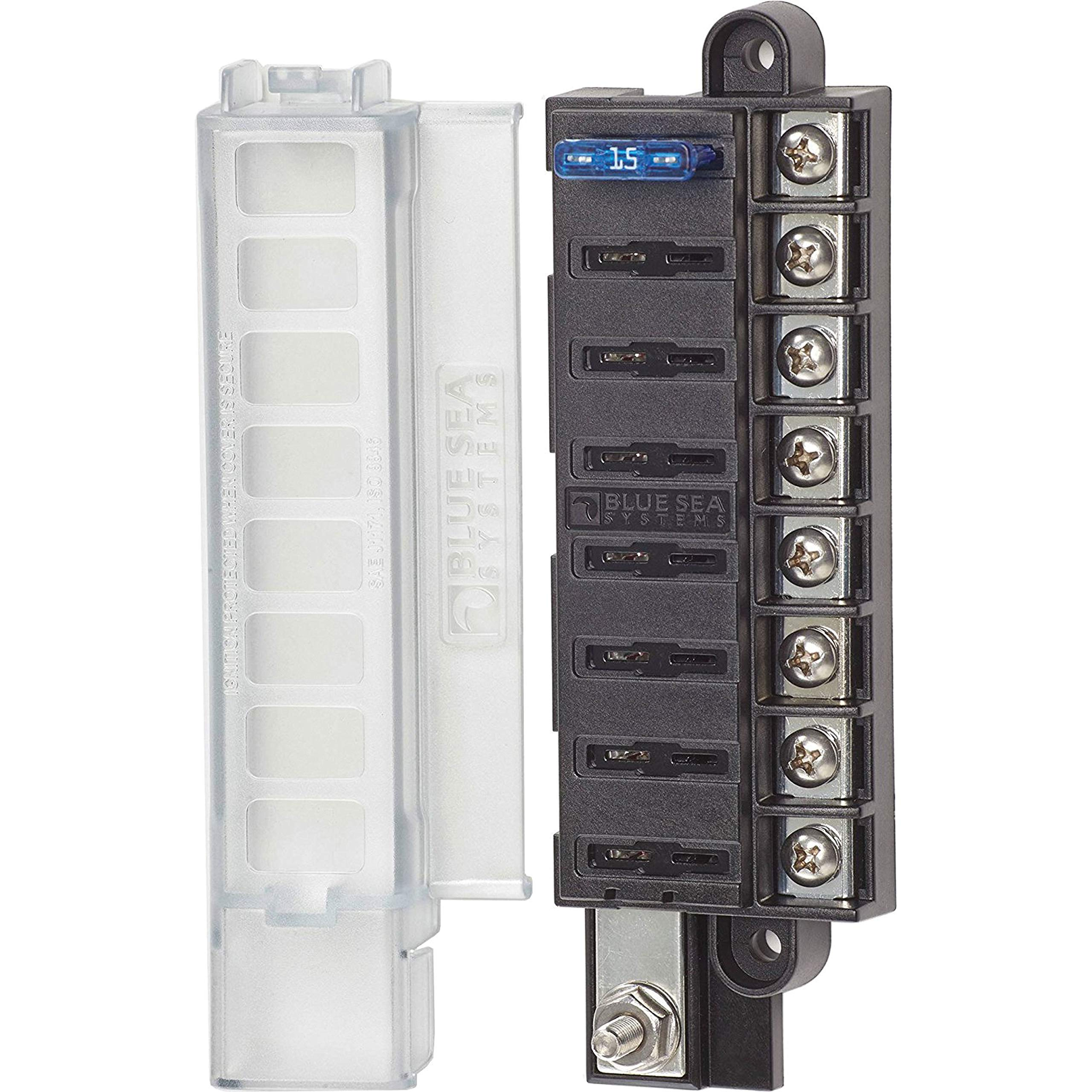Blue Sea Systems 5046 Fuse Block St Blade Mini 8 Cir- by Blue Sea Systems