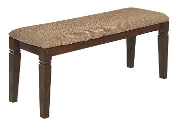 Exceptional Homelegance 2538 13 Dining Bench, 44 Inch, Western, Dark Brown,