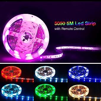 Led Strip 5m Shineline Led Lichtband Led Band Smd5050 Rgb Led Strip
